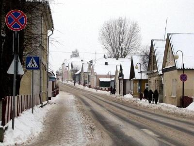 Сохранившееся еврейское местечко Ивье (Белоруссия)