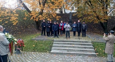 На Минской Яме. Октябрь 2017 года. Фото Елены Кулевнич