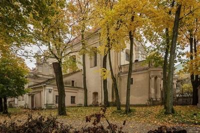 Костел Святого Георгия в Вильнюсе, в подвале которого была спрятана коллекция ценнейших материалов и документов на идиш. Фото Andrej Vasilenko/The New York Times