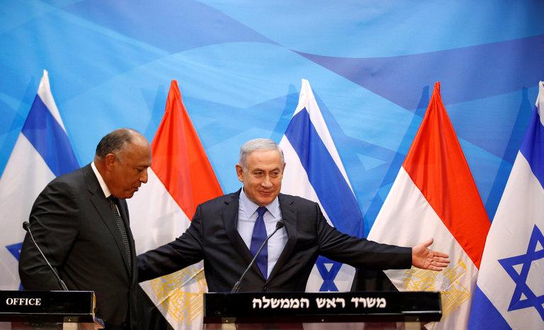 Визит в Иерусалим Самеха Шукри, министра иностранных дел Египта, 2016 г.
