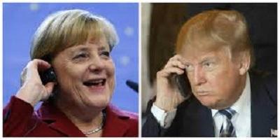 Трамп и Меркель в замешательстве?