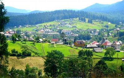 Село в Ивано-Франковской области