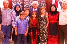 Представители хамулы Тамими на приеме у недобитого террориста Абу-Мазена