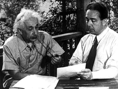 Альберт Эйнштейн и Эдвард Теллер