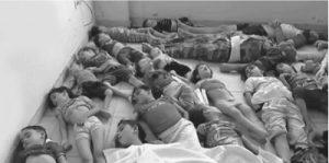 Последствия химатаки в Сирии (CNN)