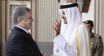 Петр Порошенко нашел подход к эмиру Катара
