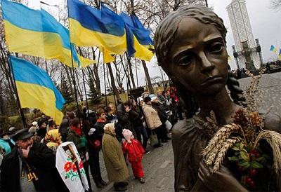 Памятник жертвам Голодомора в Киеве. Фото: Reuters