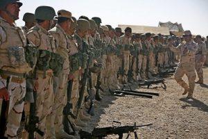 Курдские отряды пешмерга