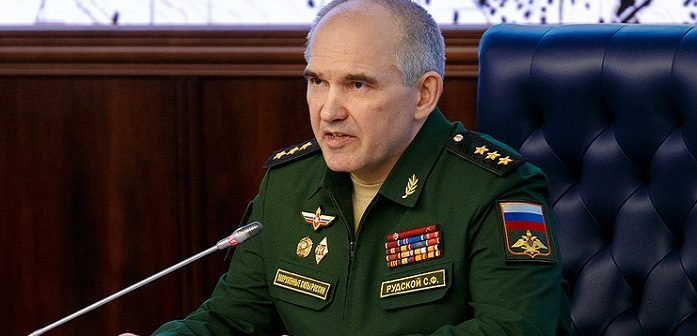 Начальник Главного оперативного управления Генштаба Вооруженных сил РФ генерал-полковник Сергей Рудской