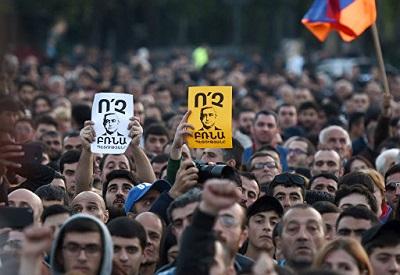 Протест в Ереване. Армяне — горячий народ, но и цивилизованный