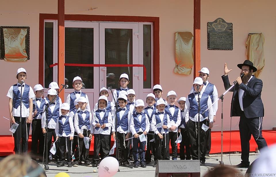 Открытие детского учебного центра в Анатевке, май 2018 г.