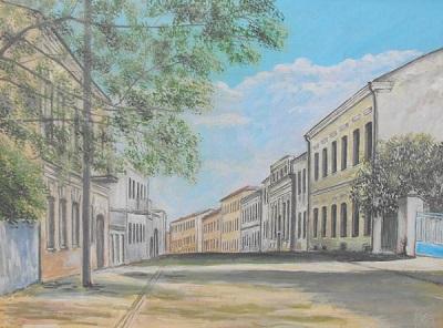 Ул. Раковская. 1964