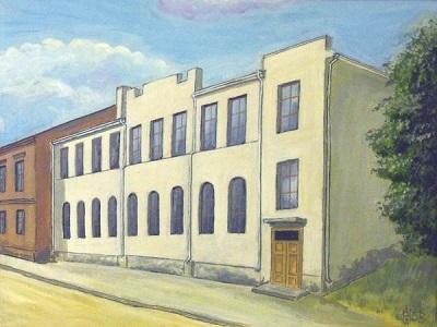 Ул. Раковская, синагога Зальцмана