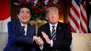 Дональд Трамп и Синдзо Абэ договорились о встрече перед сингапурским саммитом.