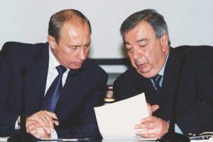 В.В. Путин и Е.М. Примаков. Фото: svop.ru