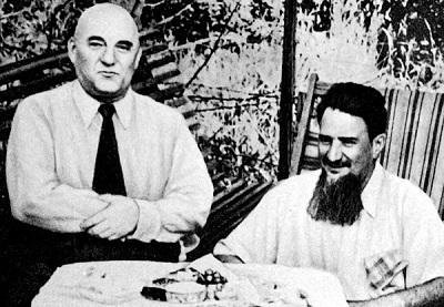 Борис Львович Ванников и Игорь Васильеваич Курчатов