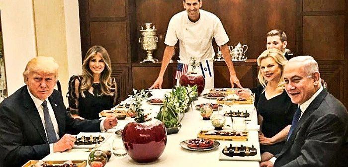 ПМ Б.Нетаньягу с супругой Сарой принимают в резиденции ПМ Президента США Д.Трампа с супругой Меланией