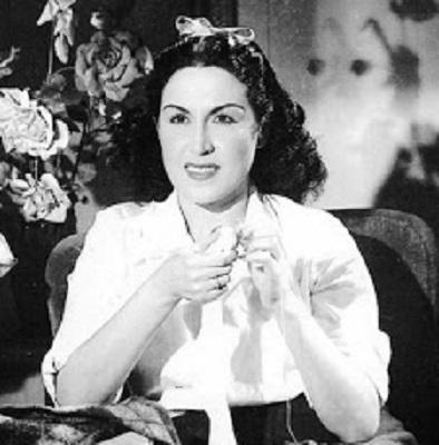 Египетская актриса Лейла Мурад