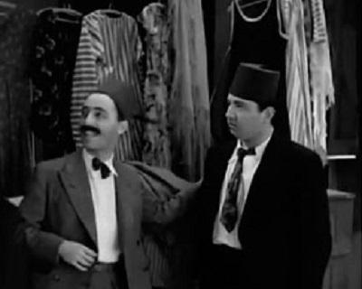 Еврей-неудачник в исполнении Леона Анджела (слева)