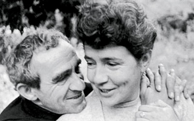 Зиновий Гердт с женой Татьяной