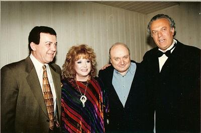 С Пугачевой, Жванецким и Резником