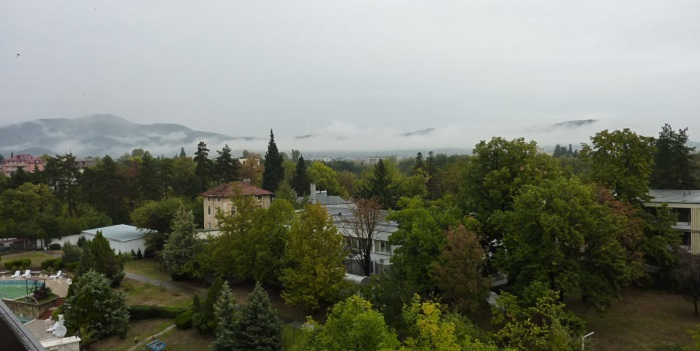 Болгария. Курорт SPA Хиссаря. Единственный пасмурный день, способствовавший воспоминаниям
