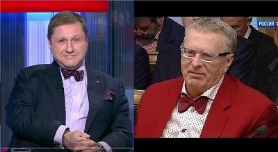 С «другом» Жириновским