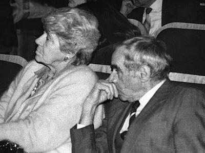 С женой Татьяной Правдиной