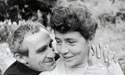 Зиновий Гердт с женой Татьяной Правдиной