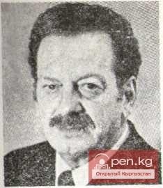 Эммануил Праг, поэт-сатирик и актер, заслуженный артист Киргизской ССР