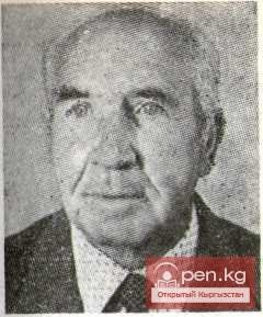 Михаил Ронкин, поэт и журналист, заслуженный деятель культуры Киргизии