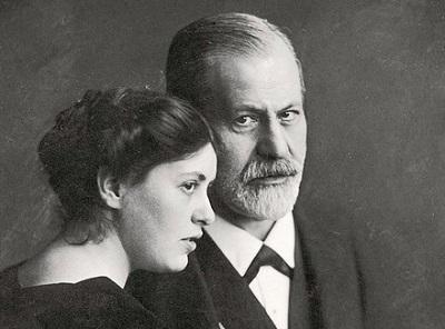 С дочерью Софи, 1912 год. Фото: psychologies.ru