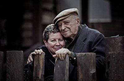 Владимир Этуш с женой Еленой
