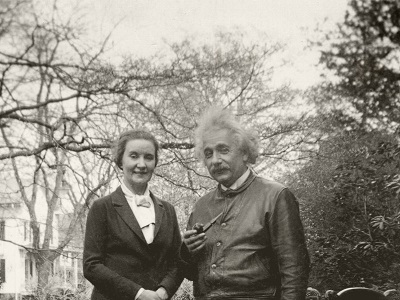 Albert Einstein and the Russian spy