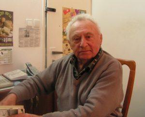 Филипп Байман, мастер спорта по классической борьбе и бывший профессор, завкафедрой физвоспитания КГУ