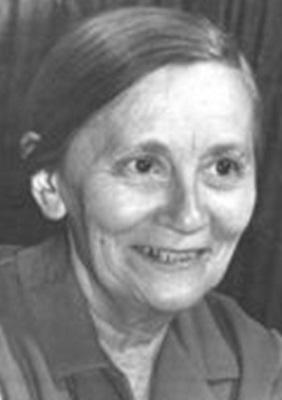 Лея Борисовна Кизнер. Фото из семейного архива