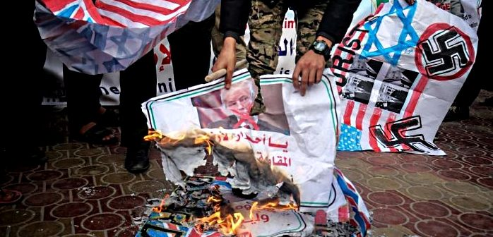 hamas protest