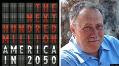 """Джоэл Коткин и его труд """"Следующие сто миллионов: Америка в 2050 году""""- Фото: Радио Свобода"""
