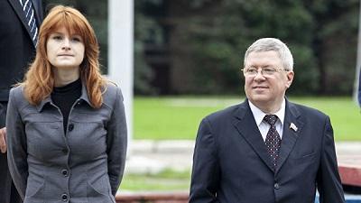 Мария Бутина и Александр Торши. Фото: РИА Новости