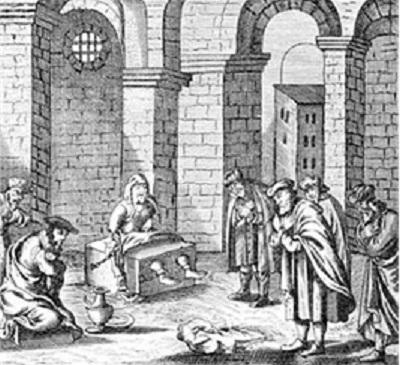 Шабтай Цви в заключении в Абидосе