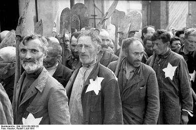 Russland, Mogilew, Zwangsarbeit von Juden