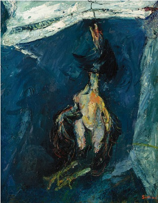 Хаим Сутин. Подвешенная индейка. Ок. 1925 Private Collection, courtesy of McClain Gallery, Houston