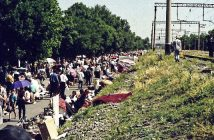Добровольный трансфер позволяет свободно ликвидировать нажитое имущество. Распродажа перед алией, Ташкент-1993