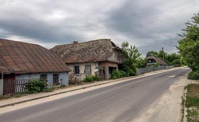 Заброшенные дома традиционной «еврейской» застройки