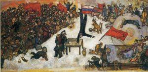 Марк Шагал «Революция»