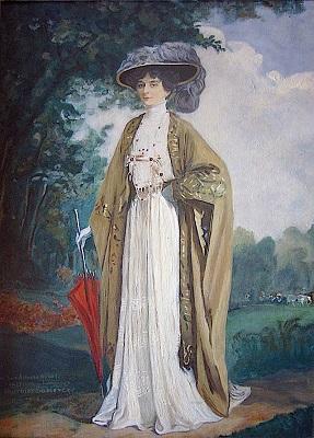 1908 г. Мари Бонапарт М. Фурнье-Sarloveze . Фото: liveinternet.ru