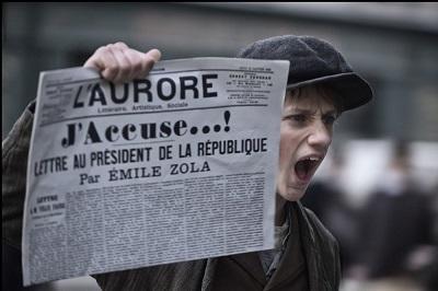 Кадр из фильма Романа Полански «Я обвиняю»