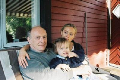 Бродский с женой и дочерью Анной на острове Торё, Швеция, 1994 г. Bengt Jangfeldt