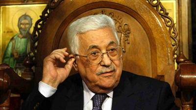 Махмуд Аббас на заседании ГА ООН