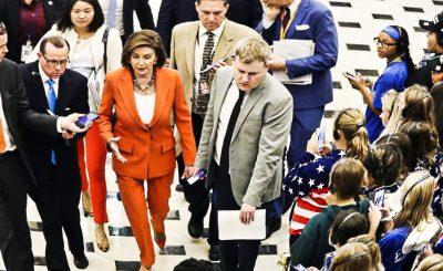 Демократы победили в Палате представителей по вопросу предъявления импичмента Д.Трампа